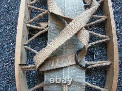 Montagne Seconde Guerre Mondiale Armée Allemande / Heer Troupes Paire De Rlb A Marqué Des Chaussures De Neige En Date 1944