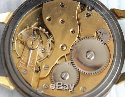 Montre-bracelet Mécanique De L'armée Moéris Seconde Guerre Mondiale Militaire Suisse Allemand Vintage Hommes Rares