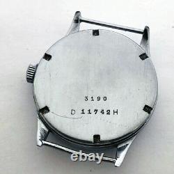 Montre-bracelet Rare Armée Allemande Helvetia Dh De La Période Ww2
