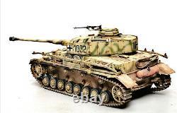 Nouveau Modèle De Plastique Peint À L'assemblage D'un Réservoir De Panzer IV J De L'armée Allemande De La Seconde Guerre Mondiale À L'échelle 1/35
