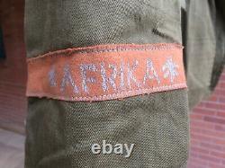 Nouveau Prix Seconde Guerre Mondiale Armée Allemande Afrika Korps Tunique