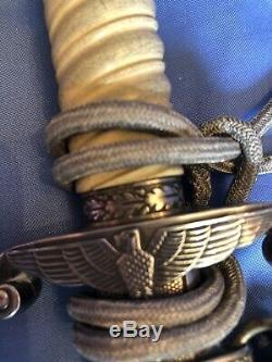 Officier De L'armée Allemande Dagger Seconde Guerre Mondiale Fourreau Complète, Portepee, Hanger