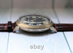 Orator Military For German Army Wwii Silver Montre Mécanique Vintage Suisse Pour Hommes