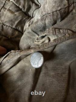Original Allemand Seconde Guerre Mondiale Splinter Pattern Parka Army Group Center Kurland Relic Cond