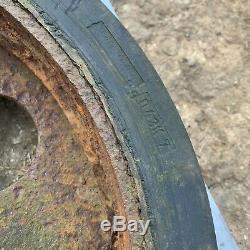 Original Allemand Ww2 Armée Sdkfz 3 Half Track Wheel Opel Maultier Fulda