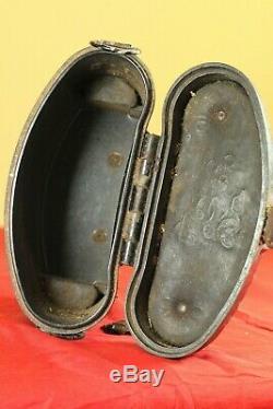 Original Seconde Guerre Mondiale Armée Allemande Wehrmacht Bakélite Jumelles 6x30 Case