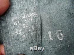 Original Véritable Ww2 Allemand Wh Army Hbt 1944 En Date Du Tunique