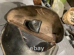 Original Ww2 Allemand Wehrmacht Luger Po8 Holster En Cuir