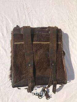 Original Ww2 Old German Army Military Backpack Signalman Radiotelegraph Opérateur