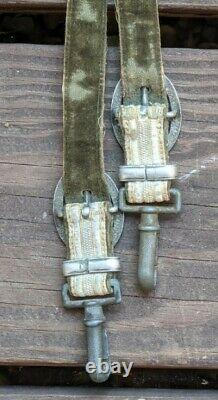 Original Wwii Allemand Heer Army Officier Dagger Hangers Couteau Accessoire