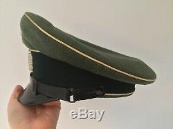 Original Wwii Ww2 Armée Allemande Chapeau Casquette Wehrmacht