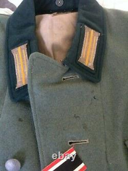 Originale Armée Allemande Ww2 M35 Uniforme Tunique