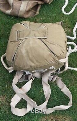 Originale Armée Allemande Ww2 Parachutiste Parachute Fallschirmjager Airborne Axis