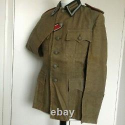 Originale Armée Allemande Ww2 Uniforme Tunique