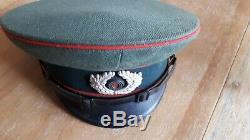 Origine Ww2 Armée Allemande Em Sous-officier D'artillerie De Grande Taille Cap Début