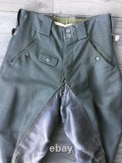 Pantalon Ww2 Pantalon Allemand Ww2 Jodhpurs 1940s Pants Allemand Ww2 Hose 2. Wk