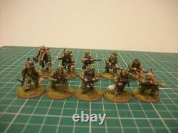 Peint 28mm Ww2 Bolt Action Allemand Waffen Ss 1500 Points Miniatures De L'armée