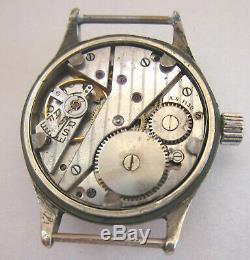 Phenix Dh 5555 Wristwatch Wehrmacht Armée Allemande De La Période Seconde Guerre Mondiale. Militaire