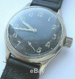 Phenix Dh Wristwatch Armée Allemande Wehrmacht De La Période Seconde Guerre Mondiale. Militaire. Californie 1130