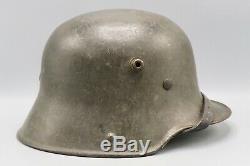 Première Guerre Mondiale D'origine Allemande / Seconde Guerre Mondiale Casque Armée De Transition