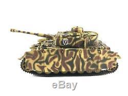 Rare 132 Diecast Forces Unimax De La Vaillance Seconde Guerre Mondiale Armée Panzer IV Ausf Allemande. H