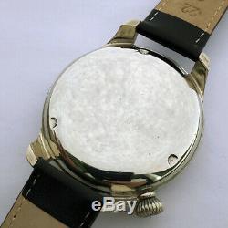 Rare Armée Allemande Militaire Suisse Arsa Wristwatch Ww2