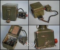 Rare Boîte Seconde Guerre Mondiale Allemande Sf14 Periscope Jumelles Set Camo Scherenfernrohr Ww2