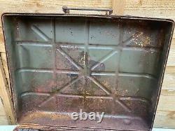 ! Rare Complète Ww2 Allemand Bâton Grenade Box Normandy Barn Trouver