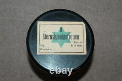 Rare Original Ww2 German Army Bakelite Signal Flare Container (vide) & 1941 D