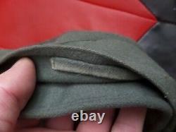 Rare Original Wwii Officiers Allemands M43 Cap