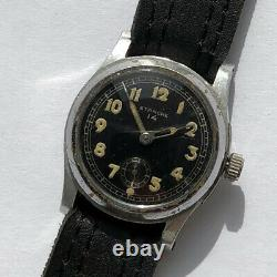 Rare Watch Armée Allemande Etanche 14 Dh De La Période Ww2