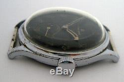 Rare Wristwatch Armée Allemande Titus Genf Dh De La Période Geneve Ww2
