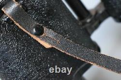 Rare Wwii Allemand 10x50 Dienstglas Modèle De Fin De Guerre Cxn Busch Rathenow Original Ww2