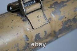 Rare Wwii Allemand Mg34 Laufschutzer Cas Beq 1943 Peinture Originale Tan