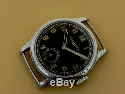 Record Dh Période Rare Wristwatch Armée Allemande Wehrmacht Seconde Guerre Mondiale Militaire Cal. 022k