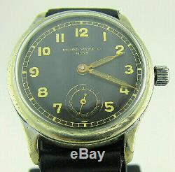 Record Montre-bracelet Dh Armée Allemande Wehrmacht De La Période Seconde Guerre Mondiale. Militaire