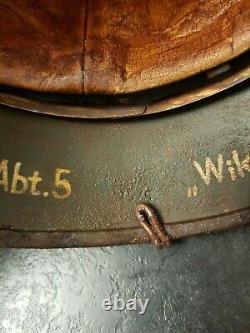 Replica Ww2 Allemande Taille Du Casque M40 66 Combat Porté Avec La Reproduction De Fil. Fait O