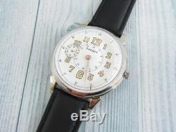 Rodana Seconde Guerre Mondiale Armée Allemande Militaire Suisse Vintage Mécaniques Wristwatch 15 Rubis