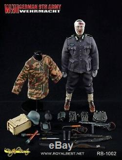 Royal Best 1/6 9ème Échelle Seconde Guerre Mondiale Armée Allemande Wehrmacht Johann Alber Figure Rb-1002