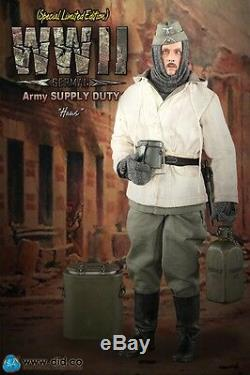 Saviez-échelle 1/6 12 Alimentation Seconde Guerre Mondiale Armée Allemande Hans Duty Version B Figure D80109sb