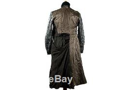 Seconde Guerre Mondiale Armée Allemande Autres Ranks Greatcoat Avec Collier Vert Foncé
