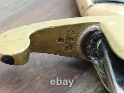 Seconde Guerre Mondiale Armée Allemande Munitions Agent Dress Sword-carl Eickhorn 28 Low # Blade