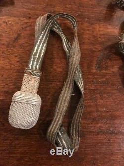 Seconde Guerre Mondiale Armée Allemande Robe Épée Glands Lot Encore Bonne Juste Worn Et D'occasion