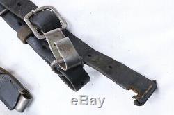 Seconde Guerre Mondiale L'armée Allemande En Cuir Y Bretelles Bretelles