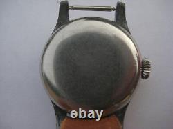 Seconde Guerre Mondiale Militaire Armée Allemande Wristwatch Cal Longines. 12l