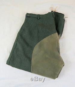 Seconde Guerre Mondiale Officier Allemand Pantalon Uniforme Heer Ww1 Culotte De Cheval De Cavalerie Armée De La Wehrmacht