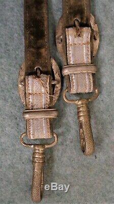 Seconde Guerre Mondiale Officiers De L'armée Allemande Dagger Hangers Issue-début Exemple Livre,