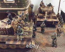 Seconde Guerre Mondiale Panzer Allemande Army'schwere-abteilung 507 1944' Échelle 1/35 Diorama