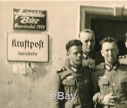 Seconde Guerre Mondiale Signe Rue Bâtiment Émail Métal Allemand Vétéran Officier De L'armée Us Ww2 Immobilier