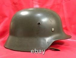 Seconde Guerre Mondiale Véritable Armée Allemande Casque M35 Armée Nationale Révolutionnaire
